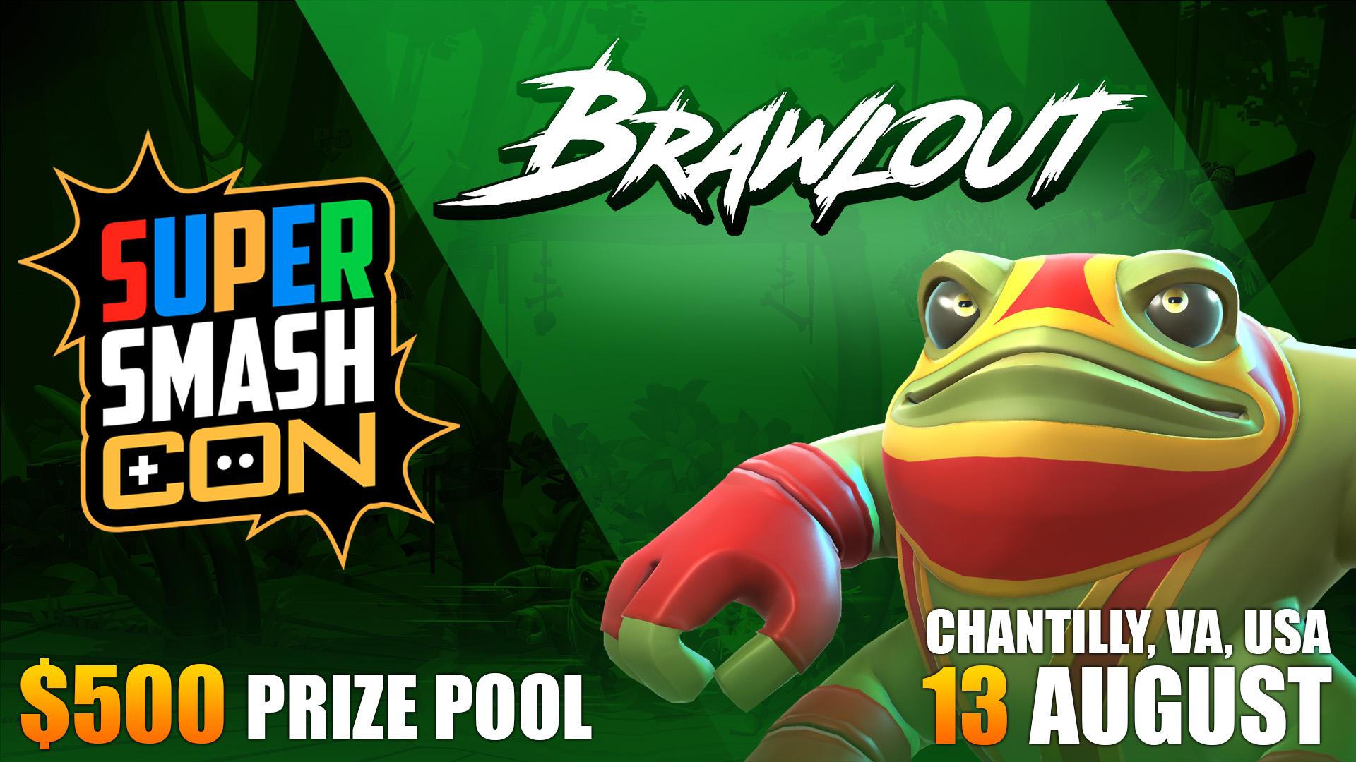 Super Smash Con Brawlout