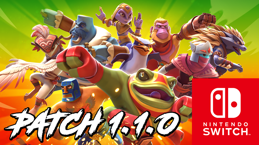 Brawlout Nintendo Switch – Patch Notes 1.1.0